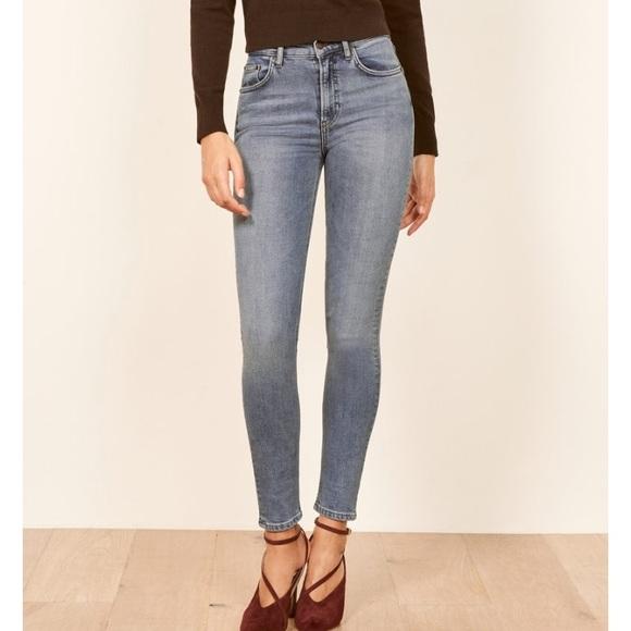 b45f3aec01ae12 Reformation Jeans | Nwt High Skinny In Catalina | Poshmark